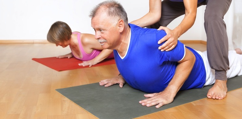middle back pain stretches