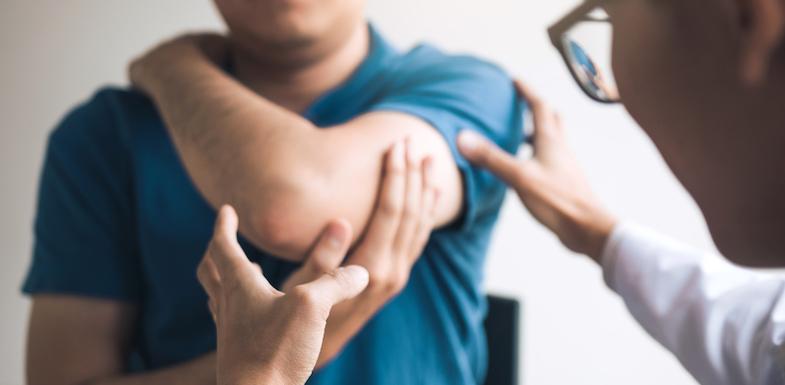frozen shoulder syndrome causes