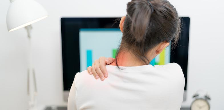 pain between shoulders